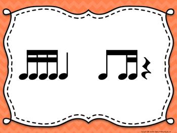 Rhythm & Shake {Rhythm Cards with Brain Breaks}:  Ti Tiri/Ti Tika
