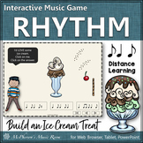 Syncopa Syncopation ~ Interactive Rhythm Game {Distance Learning} Ice Cream