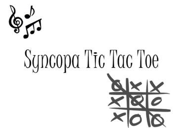 Syncopa Tic Tac Toe