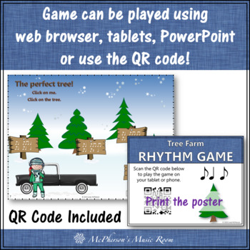 Syncopa Tree Farm - Interactive Rhythm Game + Assessment (syncopation)