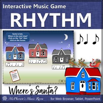 Christmas Music: Syncopa Interactive Rhythm Game {Where's Santa?}