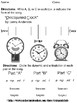 Syncopated Clock - Form Activity