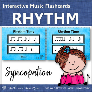 Syncopation - Interactive Rhythm Flash Cards (syncopa)