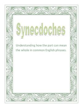 Synecdoches