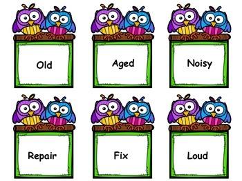 Synonym Partner Cards