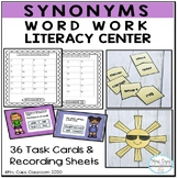 Synonym Activities  2nd & 3rd Grade