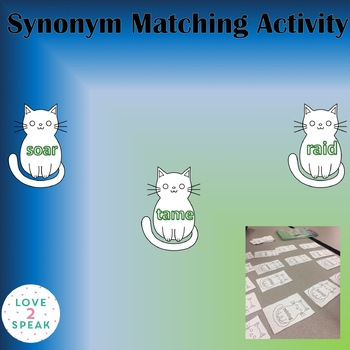 Synonym Activity - Can be used w. Pitch and Throw Grasp & Know What is a Synonym