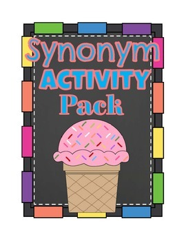 Synonym Activity Pack