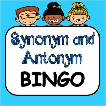 Synonym Antonym Bingo Teaching Resources Teachers Pay Teachers