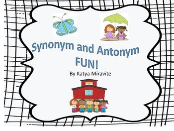 Synonym & Antonym Fun
