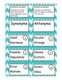 Synonym & Antonym Game