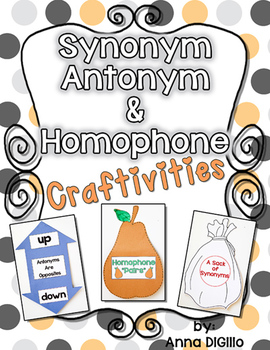 Synonym Antonym & Homophone