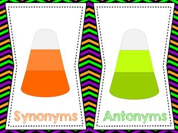 Synonym, Antonym, Homophone Sort