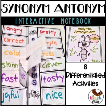 Synonym & Antonym Interactive Notebook