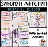 Synonym & Antonym Interactive Notebook