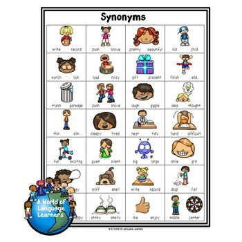 Synonyms & Antonyms Learning Pack