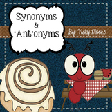 Synonym & Antonym Unit