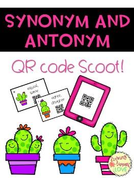 Synonym/Antonym QR Code Scoot