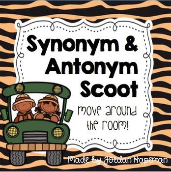 Synonym & Antonym Scoot