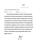 Synonym & Antonym Story