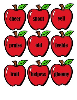 Synonym Apples and Trees