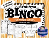 Synonym BINGO for Middle School