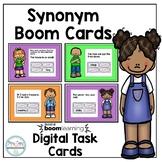 Synonym BOOM Card™ - Digital Task Cards