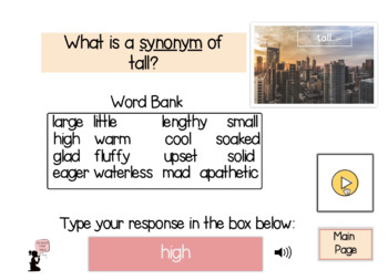 Synonym BOOM Cards™ Real Photos : Set 1