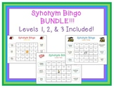Synonym Bingo Bundle!