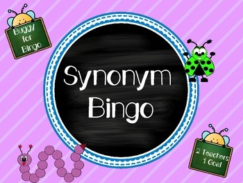 Synonym Bingo Game