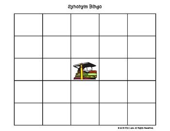 Synonym Bingo Level Three