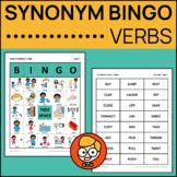 Synonym Bingo: Verbs