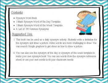 Synonym Book
