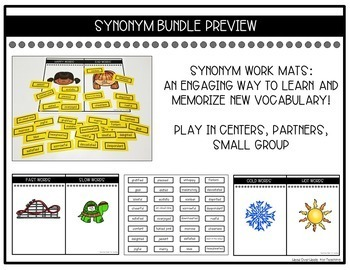 Synonym Bundle-Engage Your Writers!