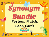 Synonym Bundle - Posters, Games, Worksheets - ACELA1464, ACELA1498