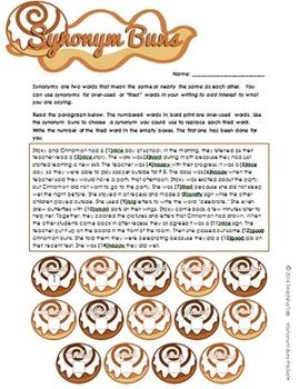 Synonym Buns (Synonym Cinnamon Buns) Packet