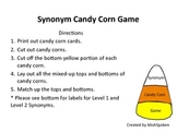 Synonym Candy Corn Game