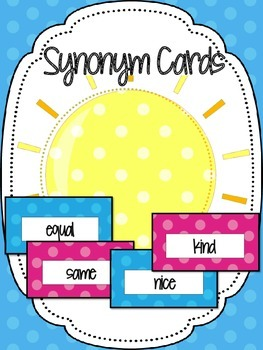 Synonym Cards