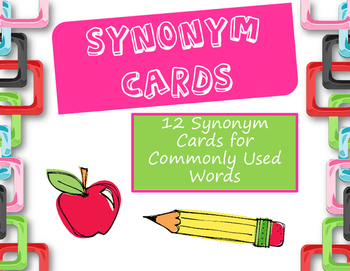 Synonym Cards