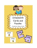 Synonym Cards and Puzzles