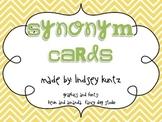 Synonym Cards (chevron)