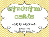 Synonym Cards (chevron)