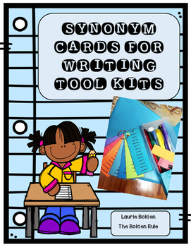 Synonym Cards for Writing Tool Kits