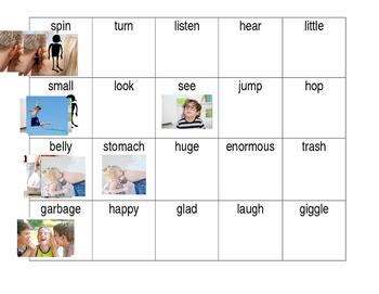 Synonym Center Cards