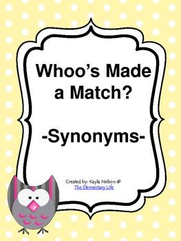 Synonym Center Owl Themed