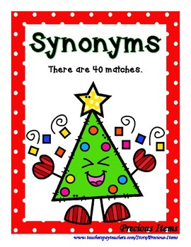 Synonym Christmas Trees