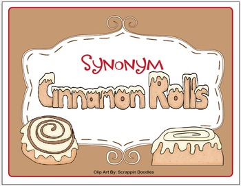 Synonym Cinnamon Rolls