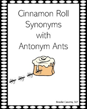 Synonym Cinnamon Rolls Worksheets & Teaching Resources | TpT