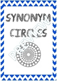 Synonym Circle Self Correcting Vocabulary Game