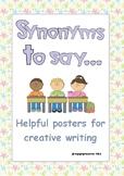 Synonym Classroom Display